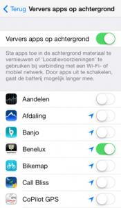 ververs-apps-op-achtergrondg