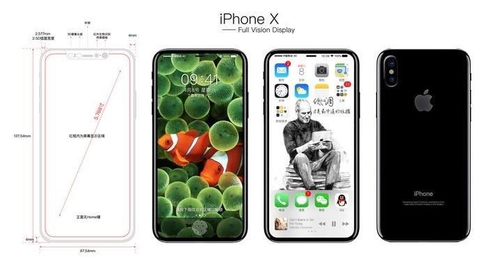 Schets iPhone 8
